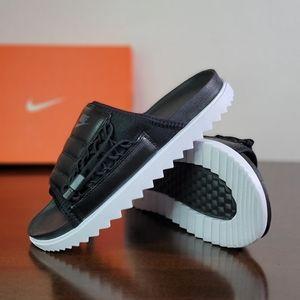 Nike Asuna AN Men's Black White Slides Sandals New